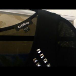 bebe Dresses - NEW!  Sexy black dress by Bebe